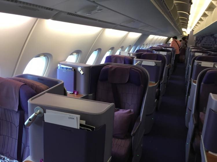 A380ビジネスクラス