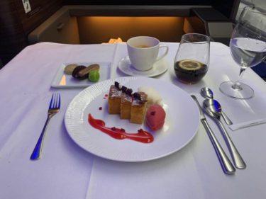 ANA A380ファーストクラスハワイ