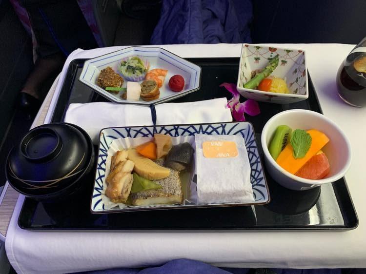 ANA A380 ビジネスクラス ホノルル