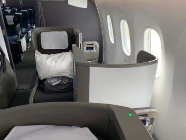 British Airways ビジネスクラス ロンドン
