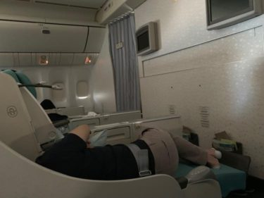 大韓航空 ビジネスクラス
